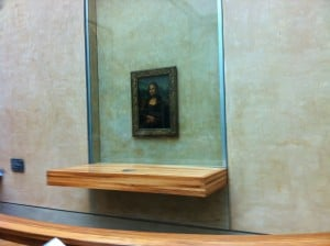 Mona Lisa - Museo del Louvre