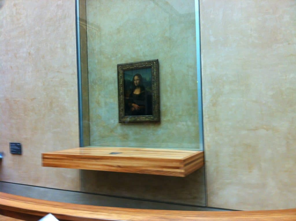 Mona Lisa - Louvre Museum. Paris in 3 days en 2 nights