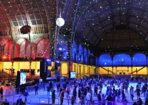 Ice Skating at Grand Palais - Paris