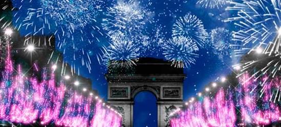 Champs Elysées New Year