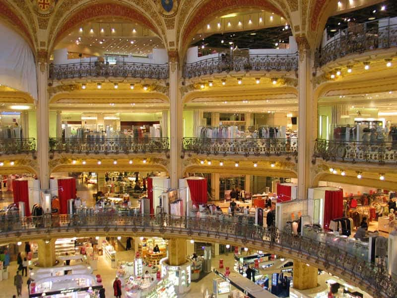 top shopping places in paris shopping areas malls shops outlets still in paris. Black Bedroom Furniture Sets. Home Design Ideas