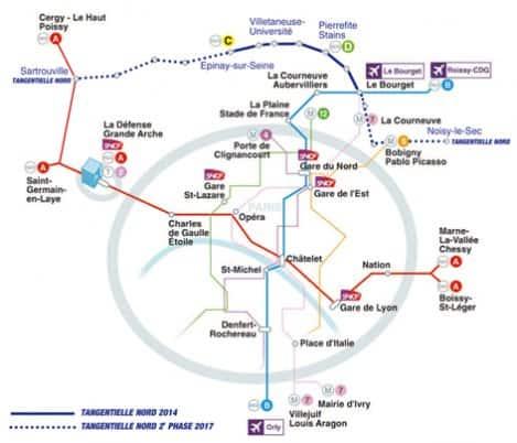 Paris airport Map