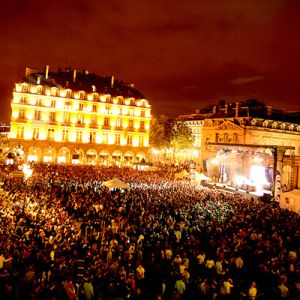 music festival in Paris in June