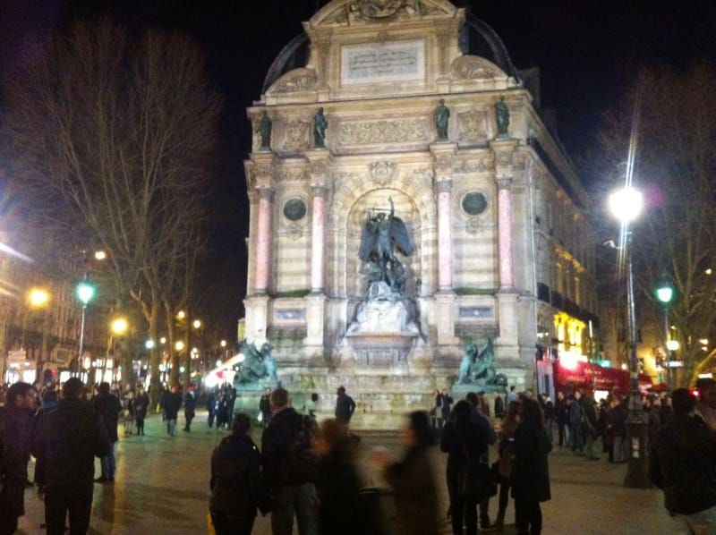 Place St Michel Paris