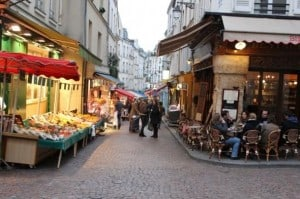 Plaza de Contrescape - Barrio Latino de París