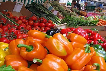 Paris food market