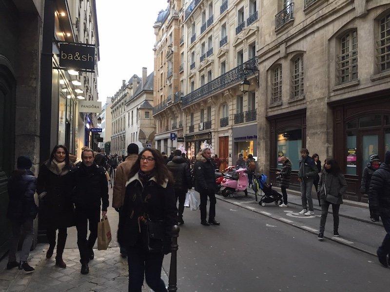 Rue des Francs Bourgeois Street