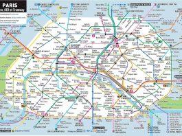 Paris metro map and prices
