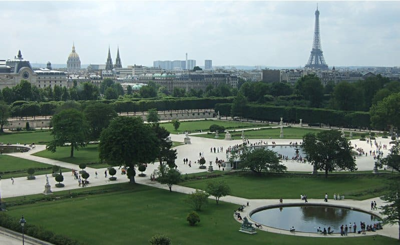 Tuileries garden - Paris in  3 days & 2 nights