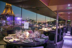 Parijse diner riviercruise