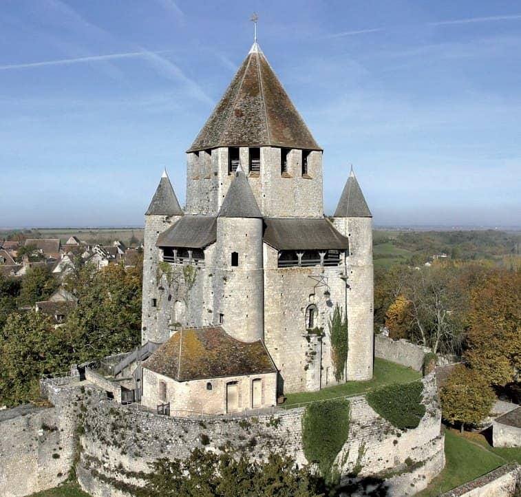 Provins a medieval city . day-trip from Paris