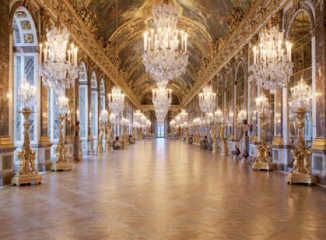 Galerie des Glaces - Versailles