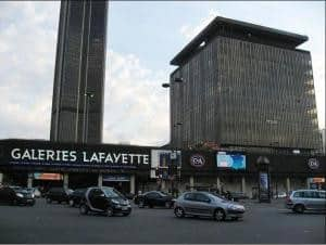 Montparnasse Shopping Mall -Paris