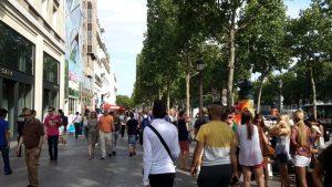 Shopping en Campos-Elíseos en París