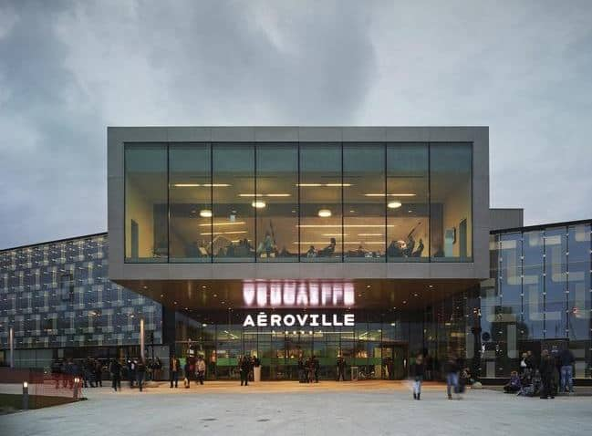 Aeroville Shopping Center Paris Airport