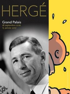 Exhibit Hergé at Grand Palais - Paris