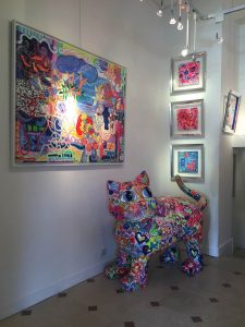 Kunstgallerie in le Marais
