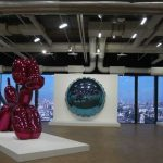 Jeff Koon in Centre Pompidou