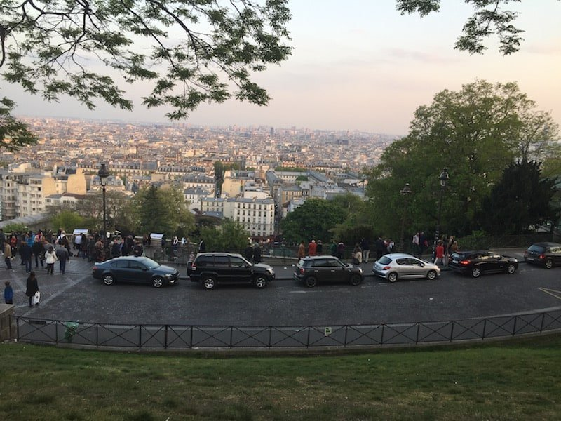 View of Paris from Montmartre - Paris in 4 or 5 days