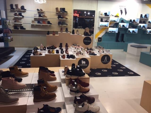 Schuhabteilung im Citadium