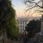 Montmartre Neighborhoods streets and view