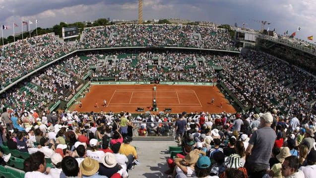 Roland Garros Paris in June 2017