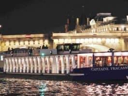 Cena crucero con Capitaine Fracasse