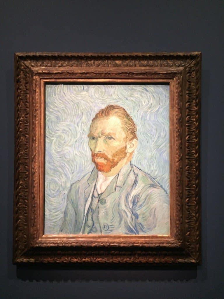 Autorretrato de Van Gogh