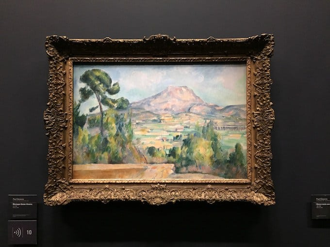 Sainte Victoire Mountain by Paul Cézanne
