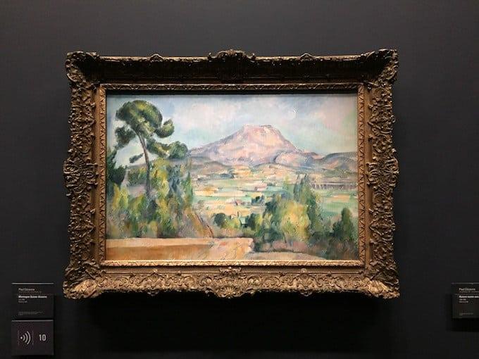 Sainte Victoire Mountain by Paul Cézanne