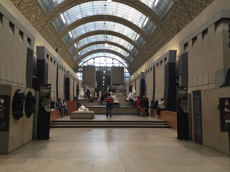The Orsay Museum in Paris