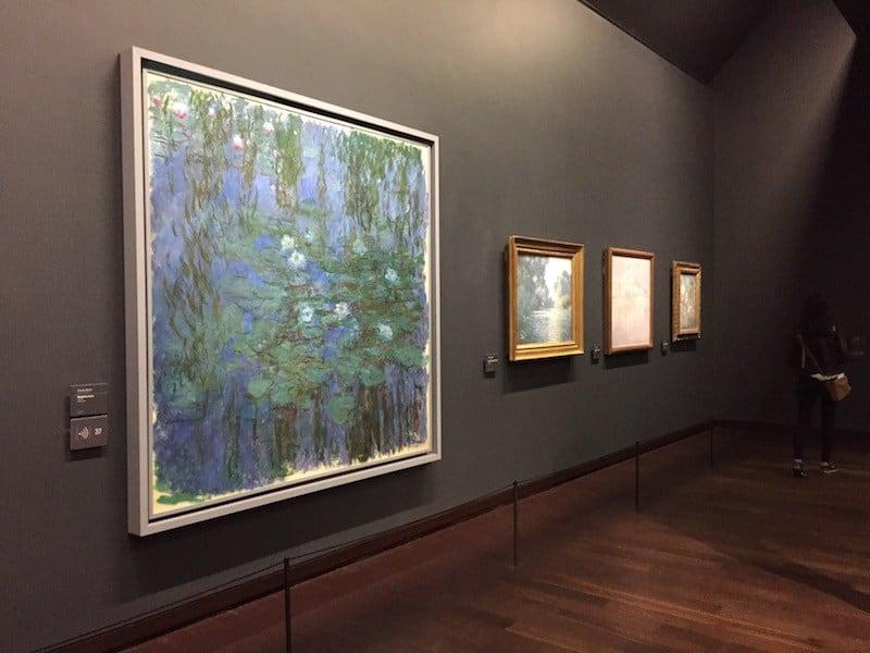 Nenúfares de Monet en el Orsay