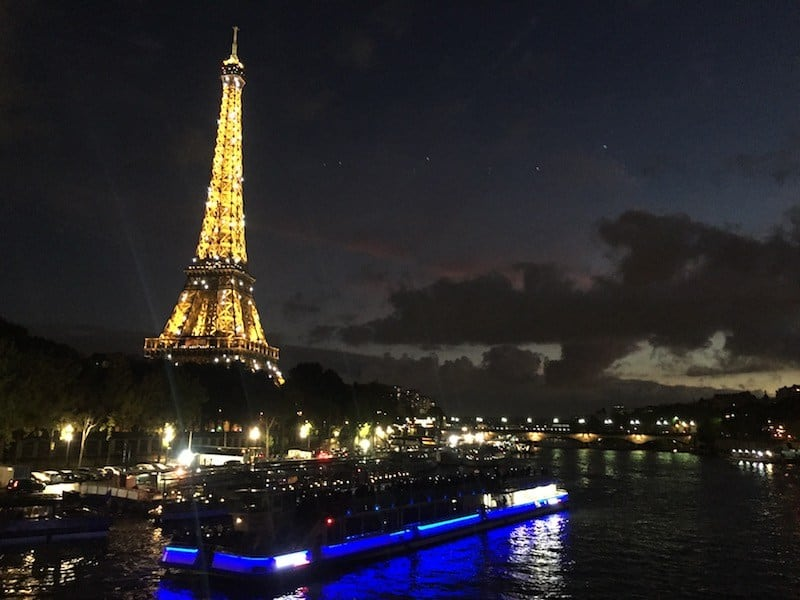 Bateaux Mouches Cruise in Paris by Night