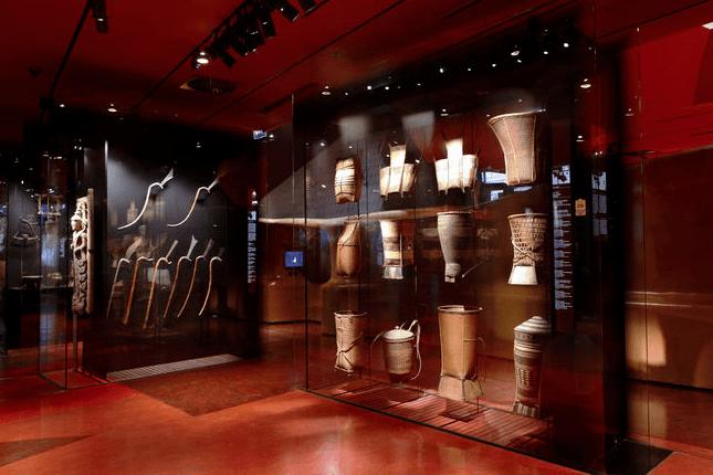 Colección Asia en el Museo de Quai Branly