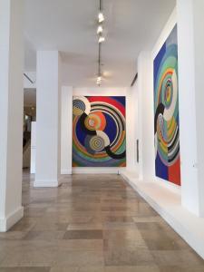Delaunay en el Museo de Arte Moderno de París