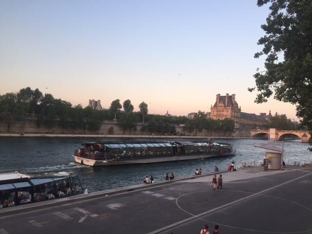Cena crucero de lujo Bateaux Parisiens