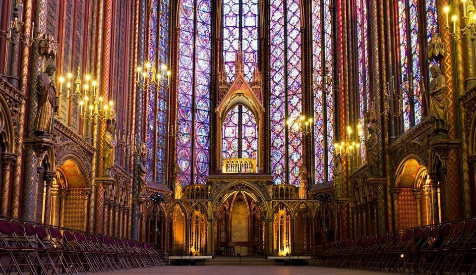 Besuch Paris Sainte Chapelle
