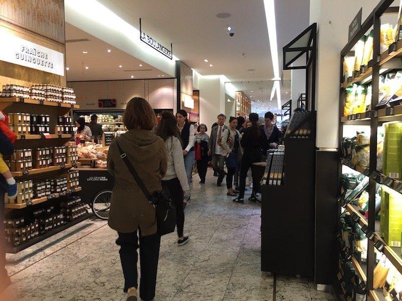 Fine Grocery at la Grand Epicerie